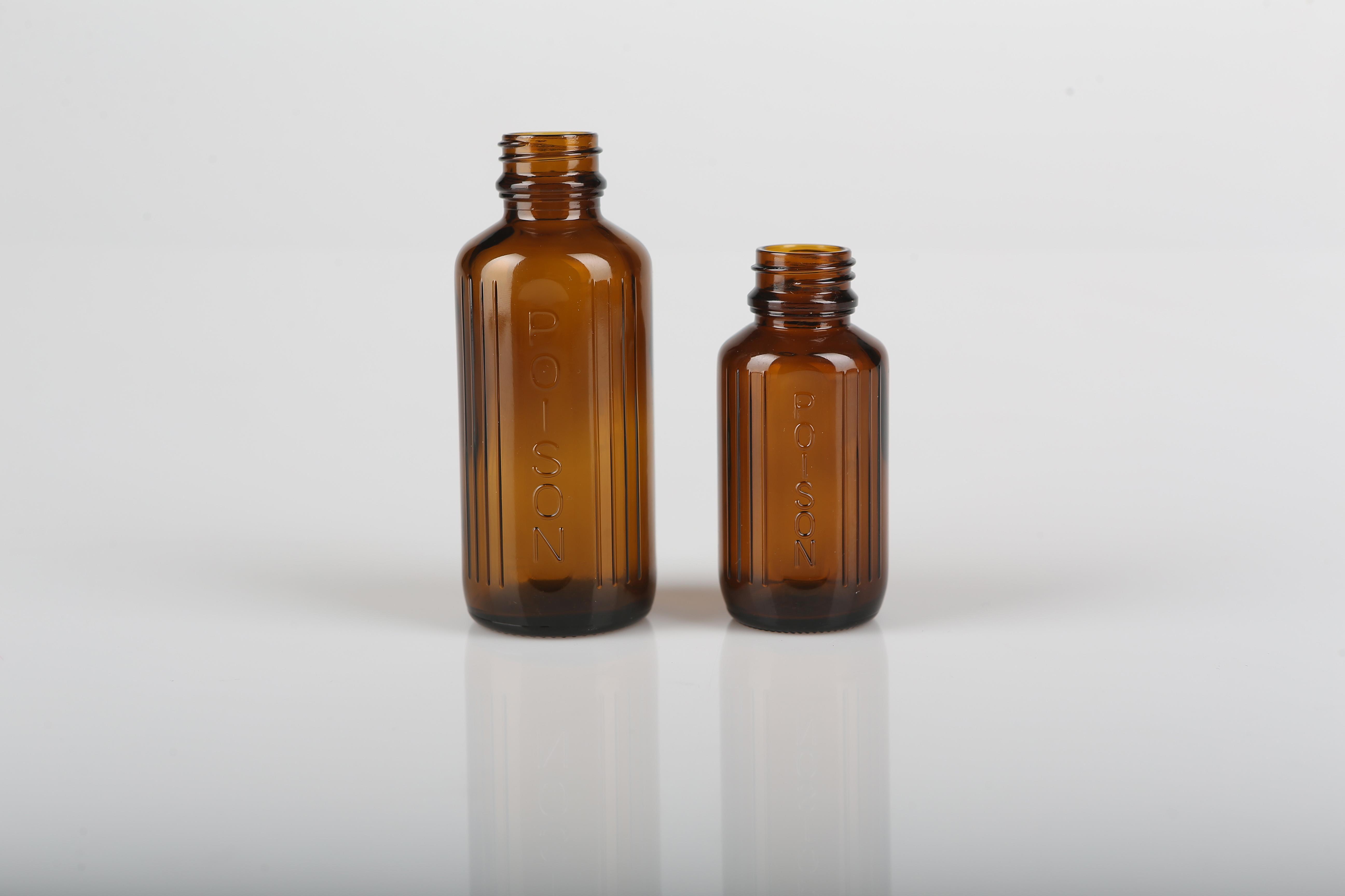 50 Ml Amber Glass Poison Bottle From Ahimsa Oils