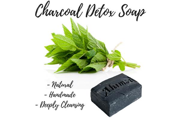Charcoal Detox Natural Bar Soap